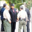 Funérailles de Michael Jackson. Joe Jackson règle les derniers préparatifs. 03/09/09