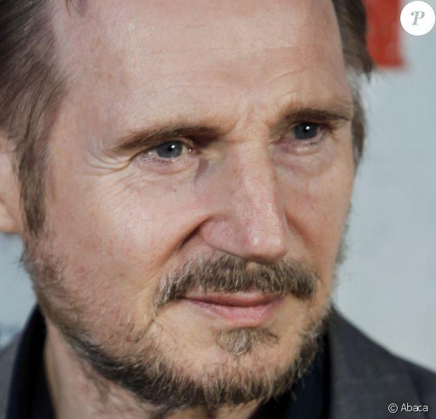 Liam Neeson en juillet 2019 lors de la présentation à Madrid de son film Sang froid.