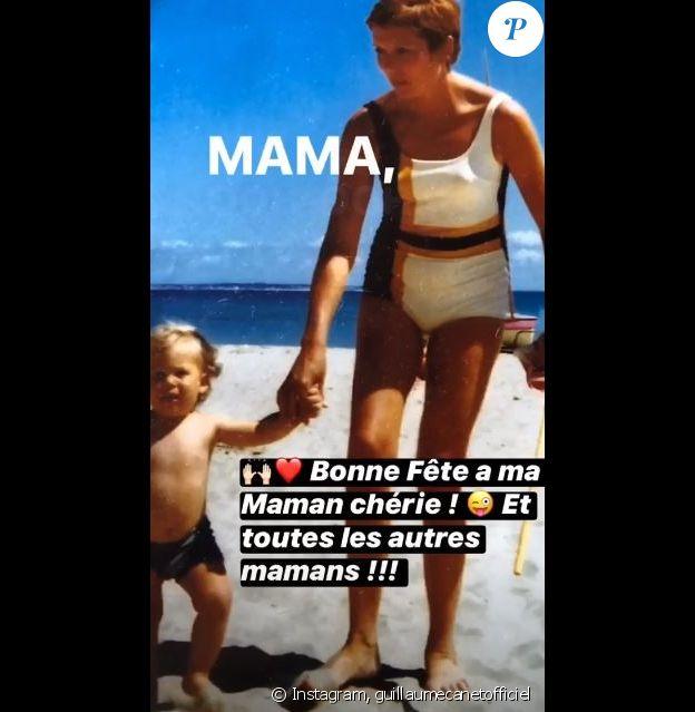 Guillaume Canet a souhaité une bonne fête à sa maman sur Instagram le 7 juin 2020.