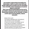 """Inès Loucif de """"Koh-Lanta"""" donne des nouvelles concernant ses plaintes, le 8 juin 2020"""