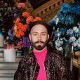 """Woodkid au défilé de mode Homme automne-hiver 2020/2021 """" Berluti """" lors de la fashion week à Paris. Le 17 janvier 2020 © Veeren - Christophe Clovis / Bestimage"""