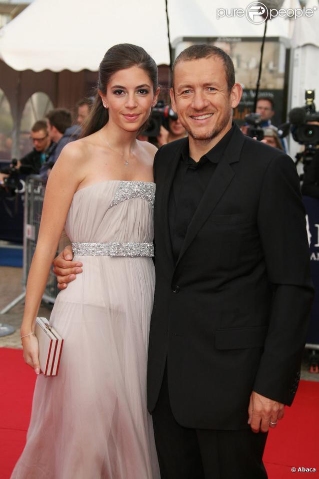 Dany Boon et sa femme Yaël lors de la cérémonie d'ouverture du festival de Deauville le 4 septembre 2009