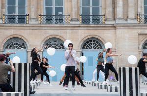 La Chanson de l'année 2020 : Un ministre s'invite, fan d'Amir, aux répétitions