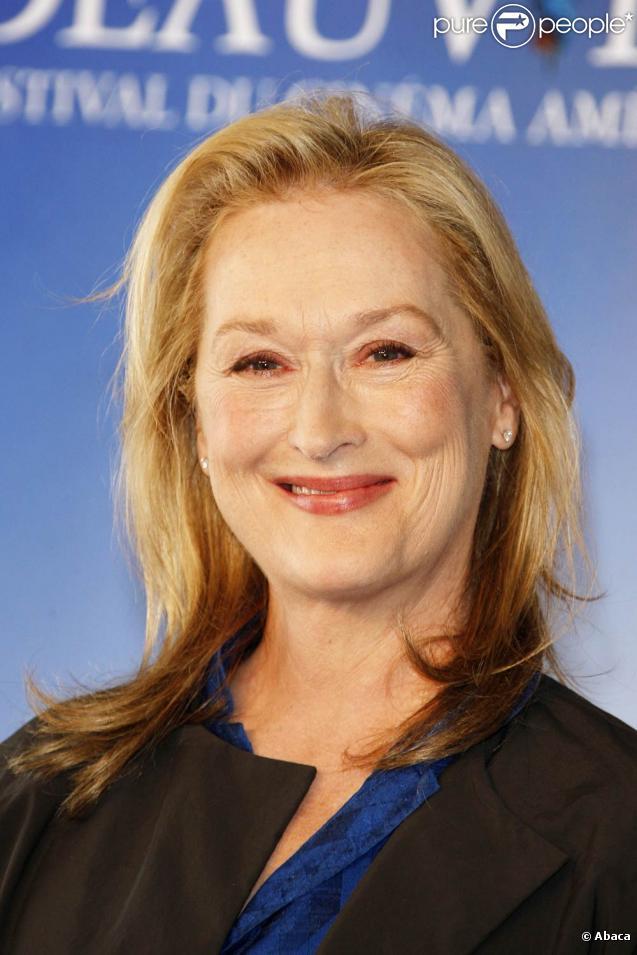 Meryl Streep, lors de la présentation de  Julie et Julia , à l'occasion du 35e Festival de Deauville, le 5 septembre 2009 !