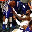 LeBron James lors du match Los Angeles Clippers - Los Angeles Lakers au Staples Center. Los Angeles, le 8 mars 2020.