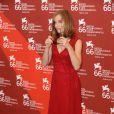 Isabelle Huppert a présenté  White Material , à l'occasion de la 66e Mostra de Venise, le 6 septembre 2009 !