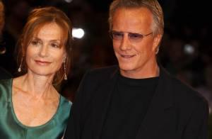 Isabelle Huppert et Christophe Lambert à la cool ou en tenue de gala... sublimes à Venise !
