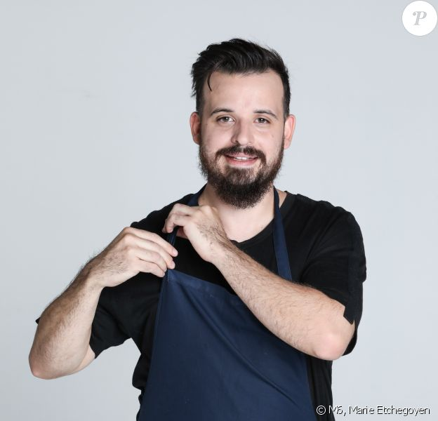 "Adrien Cachot, 29 ans, candidat de ""Top Chef 2020, photo officielle"