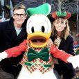 Exclusif - Bérénice Bejo et son mari Michel Hazanavicius - Célébration des 90 ans de magie avec Mickey à Disneyand Paris le 17 novembre 2018. © Veeren/Bestimage