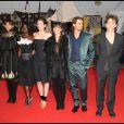 Maïwenn, Aïssa Maïga, Louise Monot, Romane Bohringer et Raphaël, à l'occasion de la présentation de  Me and Orson Welles , lors du 35e Festival du Film Américain de Deauville, le 6 septembre 2009 !