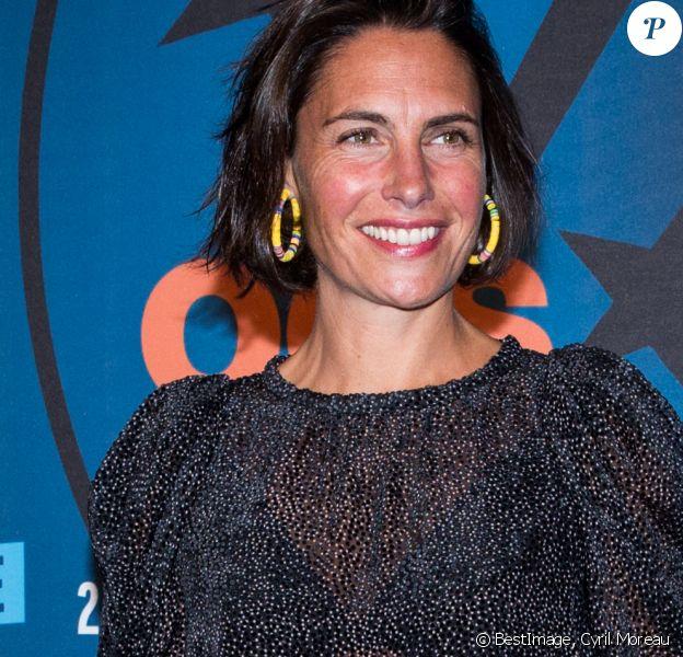 Alessandra Sublet en photocall lors du 23e festival international du film de comédie de l'Alpe d'Huez, le 18 janvier 2020. © Cyril Moreau/Bestimage