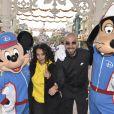 Aïda Touihri et Bouabdellah Tahri pendant la 3ème édition du Disneyland Paris Magic Run Weekend, à Coupvray, France, le 22 septembre 2018.