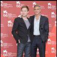 Ewan McGregor et George Clooney, à la 66e Mostra de Venise, le 8 septembre 2009 !
