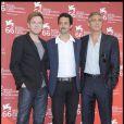Ewan McGregor, Grant Heslov et George Clooney, à la 66e Mostra de Venise, le 8 septembre 2009 !