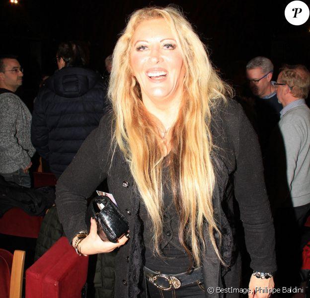 """Loana Petrucciani - People à la première du spectacle """"Danièle Gilbert et les idoles de Midi-Première"""" au Casino de Paris le 11 mars 2019. © Philippe Baldini/Bestimage"""