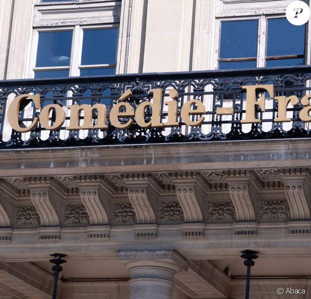 La Comédie-française, à Paris, le 16 avril 2020. Photo by David Niviere/ABACAPRESS.COM
