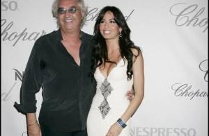 La superbe Elisabetta Gregoracci attend son premier enfant de Flavio Briatore !