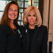 Brigitte Macron soutient Laurence Jenkell, décorée par Franck Riester
