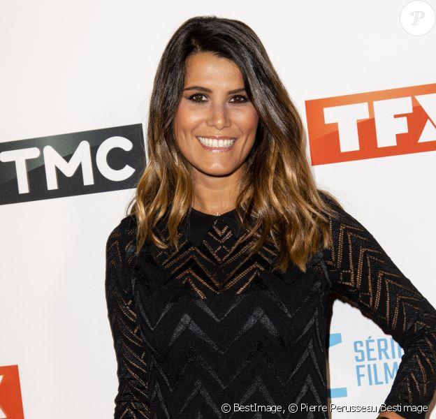 Karine Ferri à la soirée de rentrée 2019 de TF1 au Palais de Tokyo à Paris, le 9 septembre 2019. © Pierre Perusseau/Bestimage