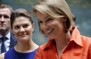 Quand les princesses Victoria de Suède et Mathilde de Belgique se rencontrent... ça flashe !
