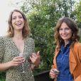 """Exclusif - Adèle van Reeth et Aurélie Saada - Remise du prix """"Evok le Prix Littéraire"""" à l'hôtel Brach à Paris. Le 29 juin 2020. © Rachid Bellak / Bestimage"""