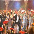 """Patrick Sébastien met le feu pendant l'enregistrement de l'émission """"Le Plus Grand Cabaret du monde"""" (8 septembre 2009)"""