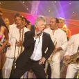 """Patrick Sébastien à l'enregistrement de l'émission """"Le Plus Grand Cabaret du monde"""" (8 septembre 2009)"""