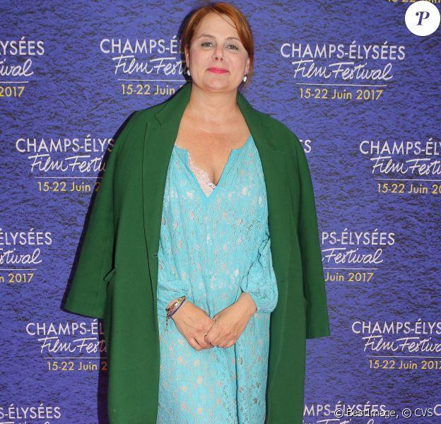 Ariane Séguillon lors de la projection des courts métrages en compétition au cinéma Lincoln lors du Champs-Elysées Film Festival à Paris, le 17 juin 2017 © CVS/Bestimage