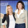 Robin Wright et Rebecca Miller, lors du photocall de  The private lives of Pippa Lee , à l'occasion du 35e Festival du Film Américain de Deauville, le 10 septembre 2009 !