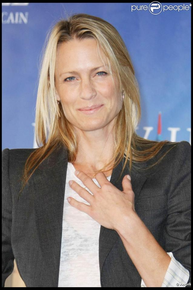 Robin Wright, lors du photocall de  The private lives of Pippa Lee , à l'occasion du 35e Festival du Film Américain de Deauville, le 10 septembre 2009 !