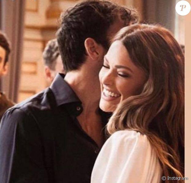 Le mariage d'Hugo Philip et de Caroline Receveur célébré le 11 juillet 2020 à Paris.