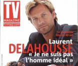 Laurent Delahousse en couverture de TV Magazine
