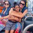 Cristiano Jr en vacances à Madère avec sa tante Elma Aveiro, juillet 2020.