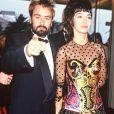 Luc Besson et Anne Parillaud au Festival de Cannes en 1991.
