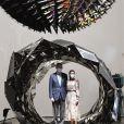 Le roi Felipe VI et la reine Letizia d'Espagne en visite à Bilbao au Pays basque le 17 juillet 2020 dans le cadre de leur tournée nationale post-confinement, où ils ont visité successivement le Musée Guggenheim et le Musée des beaux-arts.