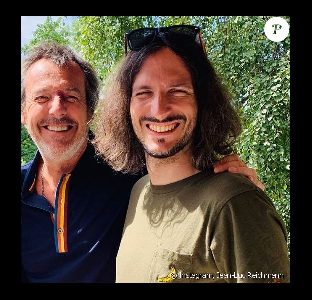 Jean-Luc Reichmann et Xavier sur Instagram. Le 15 novembre 2019.