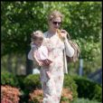 Nicole Kidman, son mari Keith Urban et leur fille Sunday Rose font le marché à Nashville