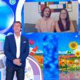 """Xavier et sa compagne Laura évoquent leur mariage à venir dans """"Les 12 coups de midi"""" - 21 mai 2020, TF1."""