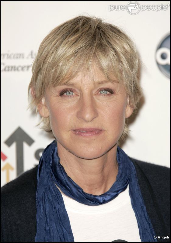 La célèbre animatrice Ellen DeGeneres