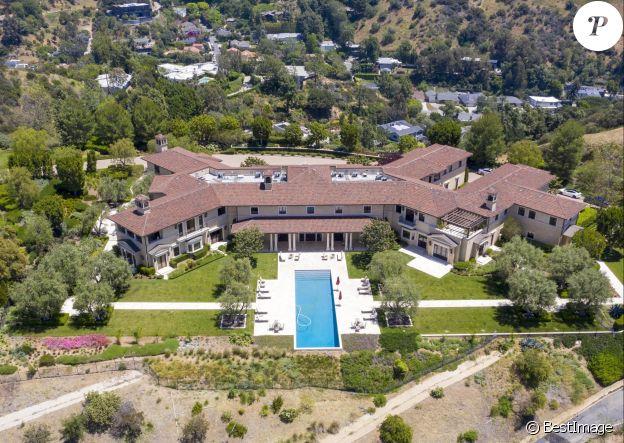 Exclusif - La villa qu'occupent le prince Harry et Meghan Markle à Beverly Hills, en Californie, depuis la mi-mars 2020.