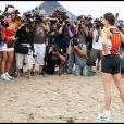 Teri Hatcher lors du Nautica Malibu triathlon (13 septembre 2009)