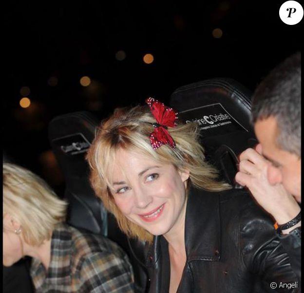 Julie Depardieu avec Laurent Korchia au... 7 eme ciel !