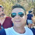 Stéphane Plaza avec Jeanfi Janssens, le 9 juin 2020, sur Instagram