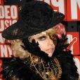 MTV Video Music Awards 2009, le 13 septembre au Radio City Music Hall : Lady GaGa avec son truc en plumes...