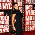 MTV Video Music Awards 2009, le 13 septembre au Radio City Music Hall : Nelly Furtado, radieuse