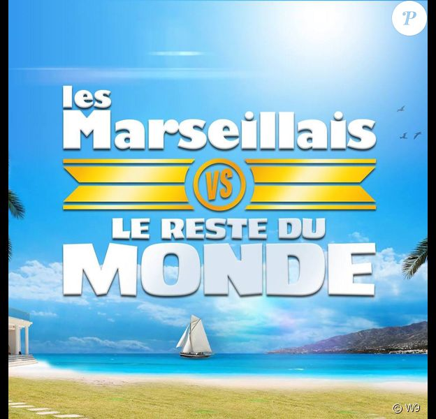 """""""Les Marseillais Vs Le Reste du monde"""", émission de télé-réalité diffusée sur W9."""