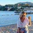 Emilie Picch sublime en vacances en Grèce, le 27 juillet 2020