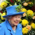 Elizabeth II le 11 octobre 2019 à Lancaster.