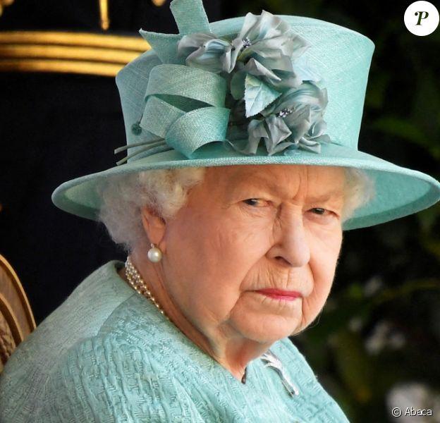 Elizabeth II fête son anniversaire à Windsor, le 13 juin 2020.
