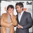 Neil Jordan et Colin Farrell lors de la première du film Ondine lors du Festival de Toronto le 14 septembre 2009